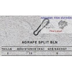 MOSQUETON AGRAFE SPLIT BLN2