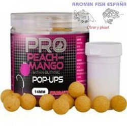 BOILIE POP-UPS PROBIOTIC PEACH & MANGO 14mm.