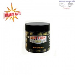 BOILIE DYNAMITE POP-UPS HOT FISH GLM 15MM