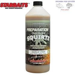 LIQUIDO PREP X SQUIRTZ GARLIC FISH 1L STARBAITS