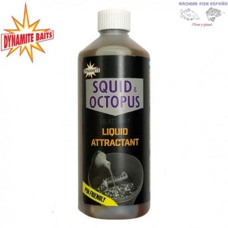 LIQUIDO DYNAMITE SQUID & OCTOPUS ATTRACTANT 500ML