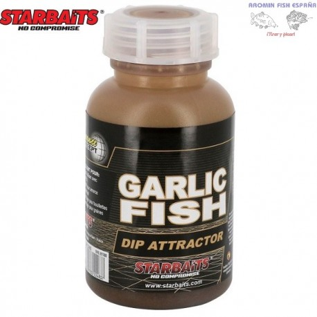 STARBAITS DIP ATTRACTOR GARLIC FISH 200ML