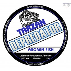 LINEA TARZAN DEPREDATOR 0,22mm.  150 m.