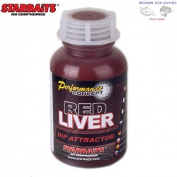 Starbaits Boilies RED LIVER 20mm 1kg